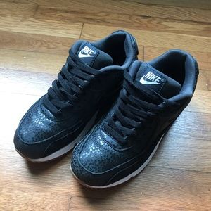 Women's Black Nike Air Max's